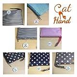 【Cat Hand(キャット ハンド)】2WAY 折り畳み バッグ キャリー スーツケース の持ち手に通せる 旅行 の サブバッグ に 最適 ポップ な ストライプ 水玉 柄 7色展開