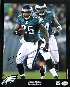 LeSean McCoy Signed Autographed Philadelphia Eagles 8x10 Photo SI by Sports Integrity