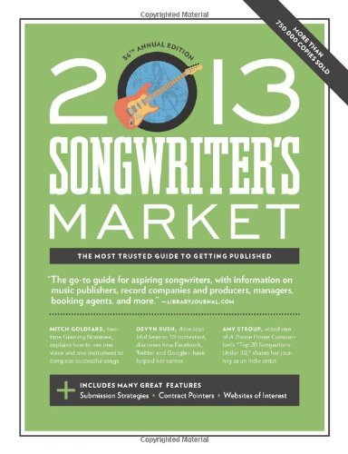 Sale alerts for Writer's Digest Books 2013 Songwriter's Market - Covvet