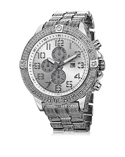 Joshua & Sons Reloj con movimiento cuarzo suizo Man JS78SS 50 cm