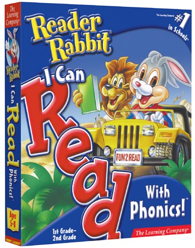 Reader Rabbit I Can Read With Phonics 1st and 2nd Grade