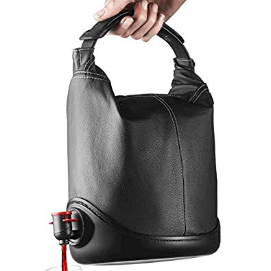 Menu Baggy WineCoat - One Size UK - Black Leather Look