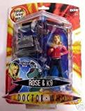 Doctor Who Rose and K9 Action Figure 2 pack