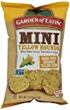 Garden of Eatin Tortilla Chip, Mini Yellow Rounds, 7.5 Ounce (Pack of 12)