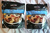 Sahale Cashew-Almond Nut & Fruit Crisp with Blueberries and Mango Nut Blend 16 oz Pack of 2