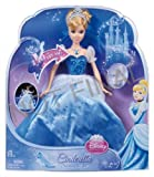 Disney Princess Swirling Lights Cinderella Doll With Matching Necklace - A Great Gift To Any Fan Toy / Game / Play / Child / Kid