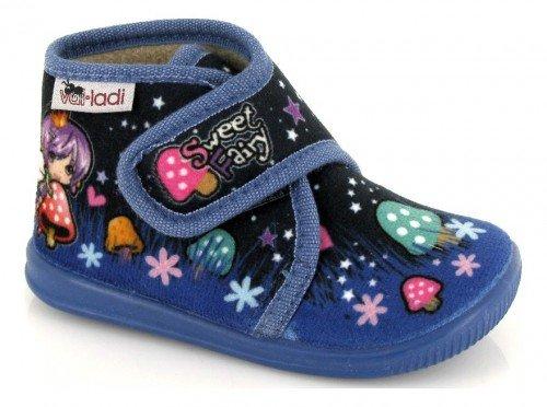 VUL-LADI, Pantofole bambine Blu Azul marino