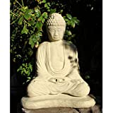 Meditating Buddha Garden Statue - Large