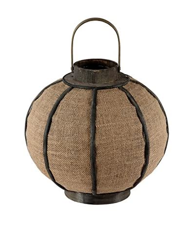 Privilege Medium Candle Lantern, Brown