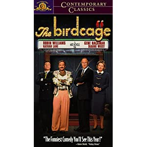 Amazon.com: The Birdcage [VHS]: Robin Williams, Nathan Lane, Gene ...
