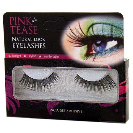 Pink Tease Natural Look Eyelashes-WD005