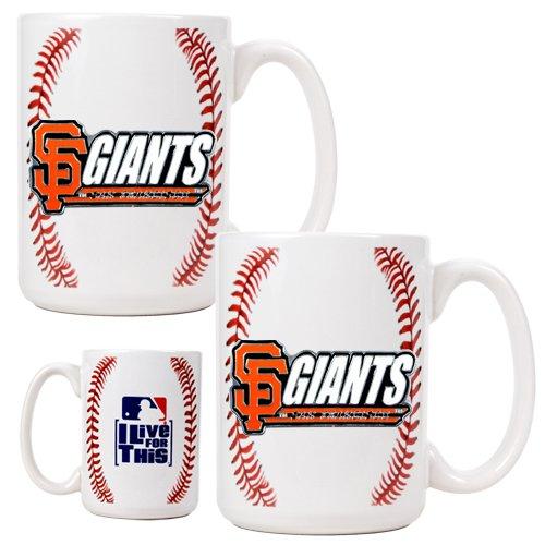 San Francisco Giants Mlb 2Pc Gameball Coffee Mug Set