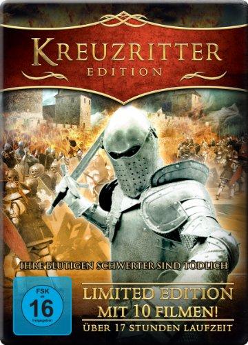 Kreuzritter Edition - Metal-Pack [Limited Edition mit 10 Filmen und 17 Stunden Laufzeit] [3 Disc Set]