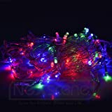 NexScene 8 Modes 10M 100 LED String Fairy Light for Wedding Christmas Party Holiday(RGB-Color)