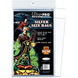 Ultra Pro Silver Size Bags, comic series, 7 1/8x 10 3/8