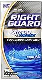 Right Guard Total Defense 5 Deodorizing Soap Cooling Bar 6 Count