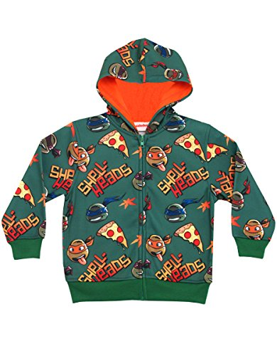 Teenage Mutant Ninja Turtles Shell-Heads Zip Up Juvy Hoodie Sweatshirt