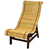 Oriental Furniture Curved Japanese Bamboo Lounge Chair