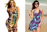 Angela Fashion Sexy Beach Dress Sun Summer Cover Up Bikini Slip Dress Multicolor Choice Size 8-10