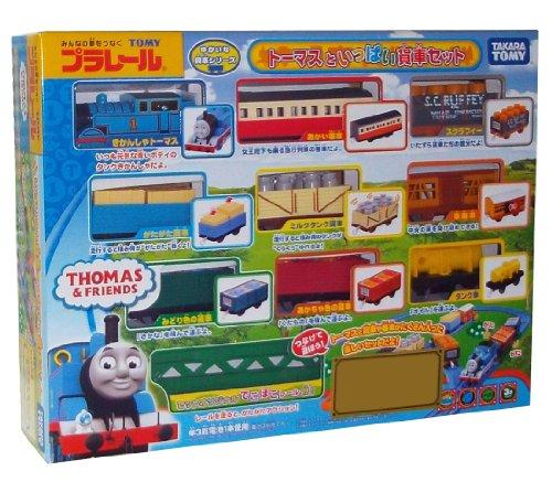 Tomica PraRail Thomas & Friends Train Freight Loading Set (Model Train)