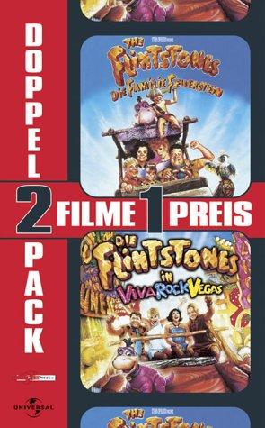 The Flintstones - Die Familie Feuerstein / Die Flintstones in Viva Rock Vegas [VHS]