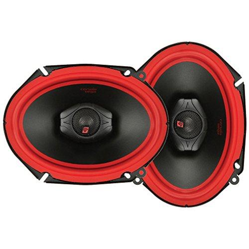 CERWIN VEGA V468 6-Inch x 8-Inch 400 Watts Max/75Watts RMS Power Handling 2-Way Coaxial Speaker Set