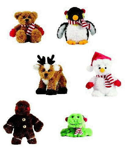 Christmas Soft Spots - 4in Gingerbread Man by Ganz - Buy Christmas Soft Spots - 4in Gingerbread Man by Ganz - Purchase Christmas Soft Spots - 4in Gingerbread Man by Ganz (Ganz, Toys & Games,Categories,Stuffed Animals & Toys,Animals)