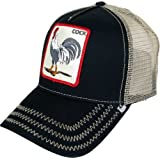 48073849a38c9 Goorin Bros Men s Rooster  Cock  Patch Trucker Hat Cap (Black) (Color