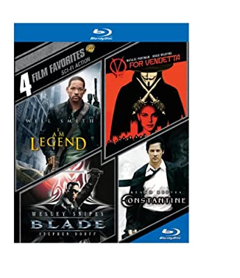 4 Film Favorites: Sci-Fi Action (BD)(4FF) [Blu-ray]