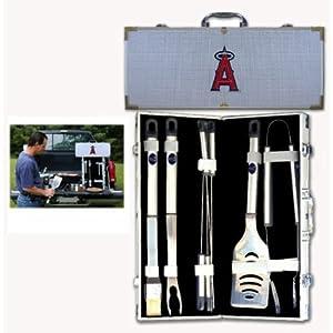 MLB Los Angeles Angels 8 Piece BBQ Set by SISKIYOU