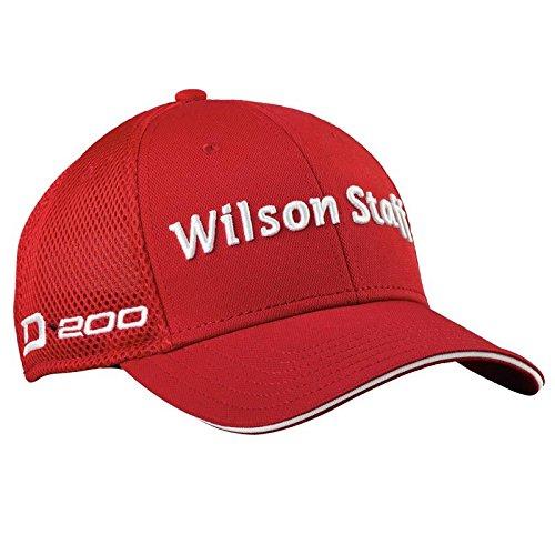 Wilson Staff Golf 2016 Tour D200 per cappello berretto uomo hyperscroll - strutturata