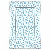 Linens Limited Stars Changing Mat BlueWhite