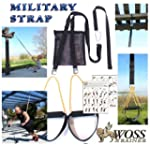 WOSS Military Strap Trainer Black, wi...