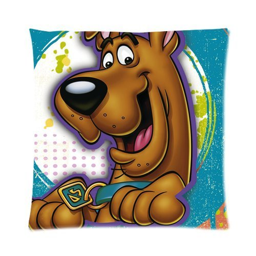 Butuku Hot Cartoon Series Adventure Film Scooby Doo Custom Personalized Zippered Square Pillow Case 16X16 (One Side) front-961030