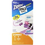 "Space Bag 2 Pack Fresh Scent Jumbo & Extra Large Lavender Scent Space Bag, each, Lavendar, Box 6"" X 3"" X 13"""
