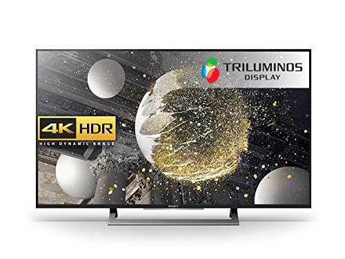 Sony Bravia KD49XD8088 49 inch Android 4K HDR Ultra HD Smart TV with TRILUMINOS Display, PlayStation Now and Google Cast (2016 Model) -Black