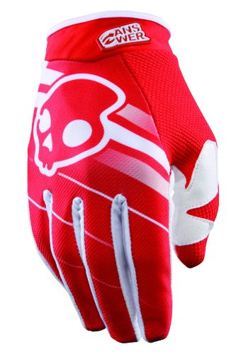 Answer A13 Skullcandy Gloves , Distinct Name: Red, Primary Color: Red, Size: 2Xl, Gender: Mens/Unisex 457596