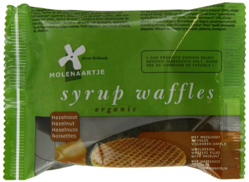 Molenaartje Organic Hazelnut Waffle Twinpack (Pack of 15)