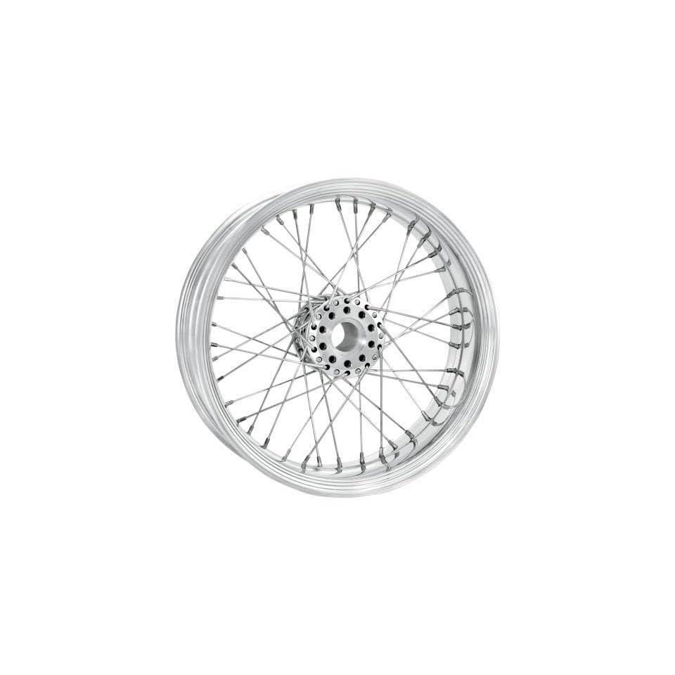 Performance Machine Merc Wire Chrome 23x3.5 Front Wheel , Color Chrome, Position Front, Rim Size 23 12286306RMRCCH