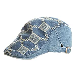 jean cool baby boy sun hat infant summer cap