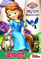 SOFIA THE FIRST 96PG 2 ASSORTED COLORING BOOK