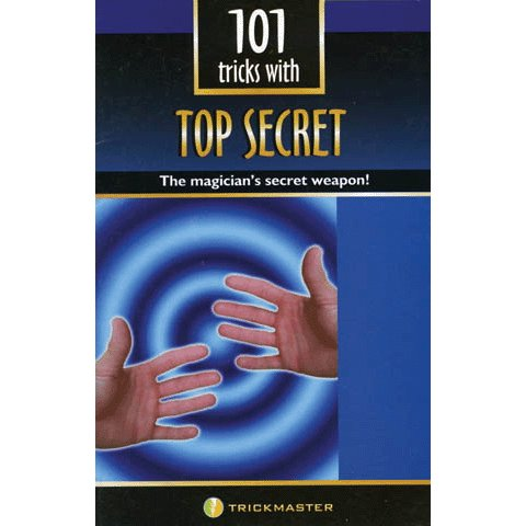 101 Magic Tricks with a Thumb Tip Book - Top Secret! - 1