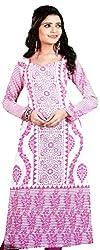 Amour India Women's Cotton Unstitched Kurti (Multi-Coloured) Dress Material