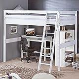 hochbett 140x200 was man vor dem kauf wissen sollte. Black Bedroom Furniture Sets. Home Design Ideas