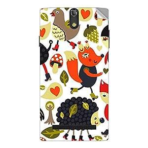 Garmor Designer Mobile Skin Sticker For Spice STELLAR 518 - Mobile Sticker