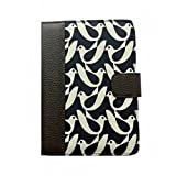 Orla Kiely Book Case for Kindle 4 & Kindle Touch - Birdwatch Cream & Navy