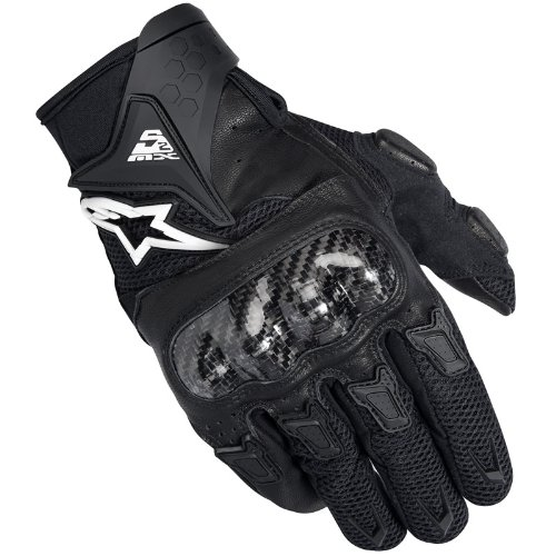 Alpinestars SMX-2 Air Carbon Motorcycle Gloves XL Black