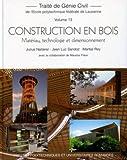 echange, troc Julius Natterer - Construction en bois : Matériau, technologie et dimensionnement