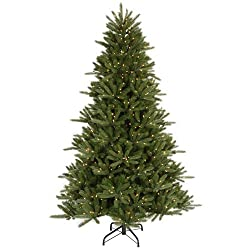 8.5' Pre-Lit Vermont Fir Instant Shape Artificial Christmas Tree - Clear Lights