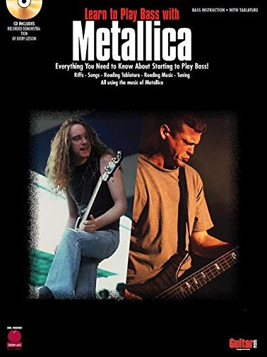 LEARN TO PLAY BAS METALLICA+CD